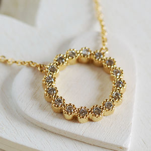 Eternity Ring Necklace - necklaces & pendants