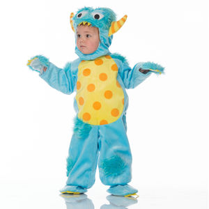 Baby's Blue Monster Dress Up Costume