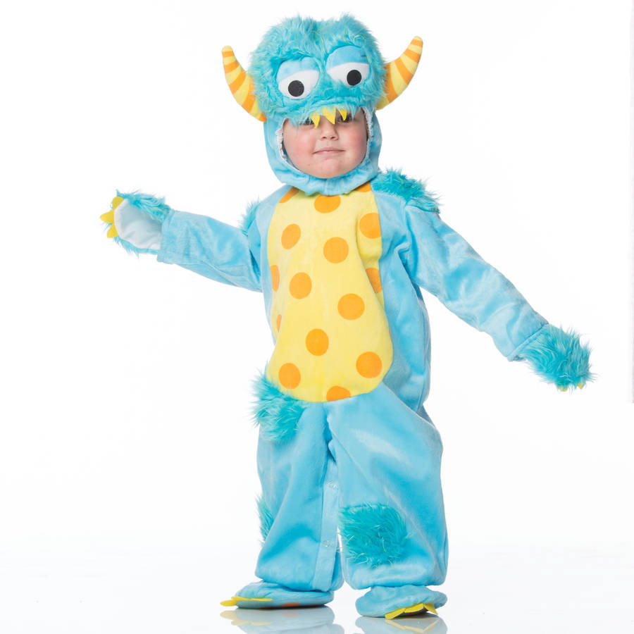Dress Up: Baby's Blue Monster Dress Up Costume By Time To Dress Up