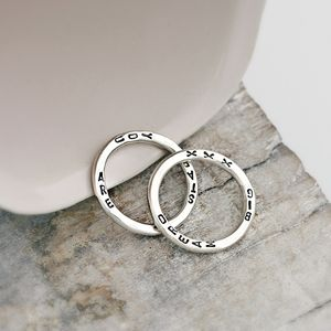Personalised Word Ring - wedding fashion