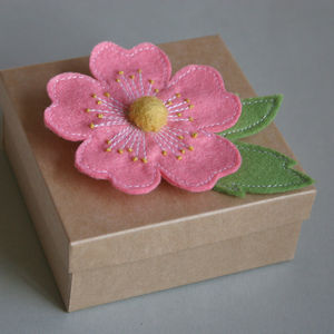 Eglantine Rose Brooch - pins & brooches