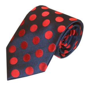 Classic Spotted Silk Tie