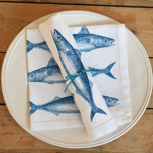 Mackerel Napkin - tableware
