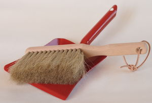 Toy Dustpan And Brush