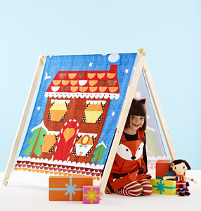 Play Den Tent Gingerbread House - games