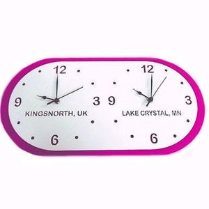 Bespoke Time Zone Wall Clock - whatsnew