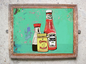 Condiments Limited Edition Print - limited edition art