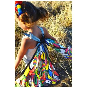 Design And Colour In Your Own Butterfly Wings - pretend play & dressing up