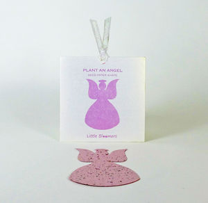 'Plant an Angel' Seed Paper Gift - cards