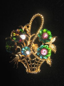 1950's Vintage Brooch - pins & brooches