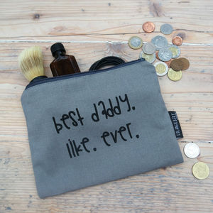 Wash Bag For Dads - for fathers