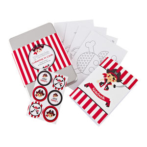 Pirate Colouring Gift Set Tin - view all sale items