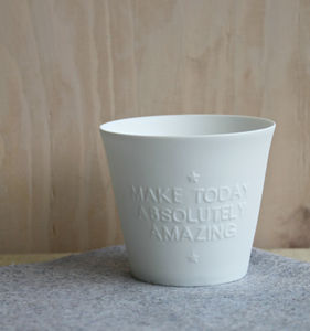 'Make Today Absolutely Amazing' Votive