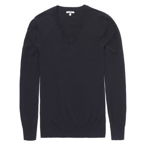 V Neck Sweater - men's fashion