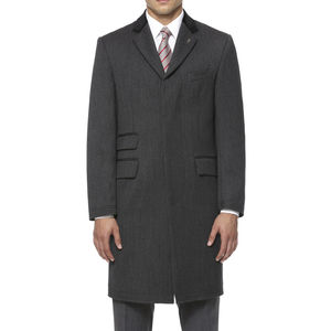 Carnegie Overcoat - men's fashion
