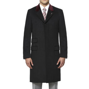 Pentonville Overcoat - men's fashion