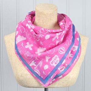 'Daydream' Dream Big Pink Scarf - gifts for teenagers