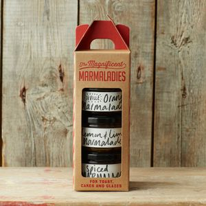 'Magnificent Marmaladies' Marmalade Selection - food gifts