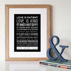 The Corinthians Quote Print Or Canvas