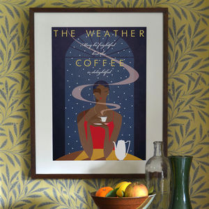 'Coffee' Art Print