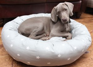 Star Donut Dog Bed