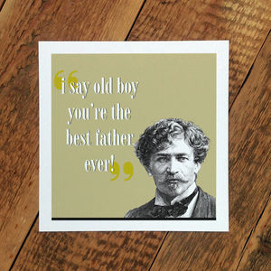 Father's Day Card; The Best Father Ever - view all sale items