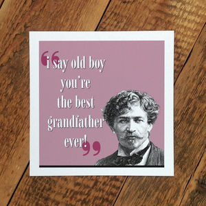 Grandfather Card; The Best Grandfather Ever - view all sale items