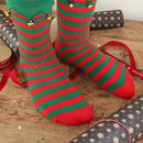 Christmas Elf Slipper Socks