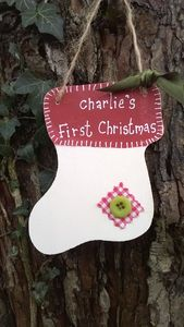 Patchwork Christmas Stocking - stockings & sacks