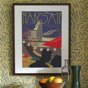 'Margate Dreamland' Art Print