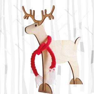 Christmas Reindeer - natural scandi christmas decorations