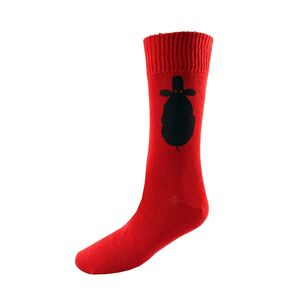 Sheep Printed Super Socks Large - men's sale
