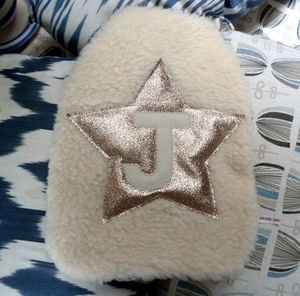 Gold Glitter Star Hot Water Bottle - hot water bottles & covers
