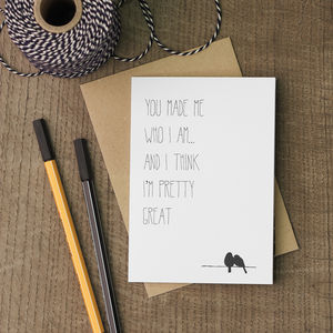 I'm Great Father's Day Card - father's day cards