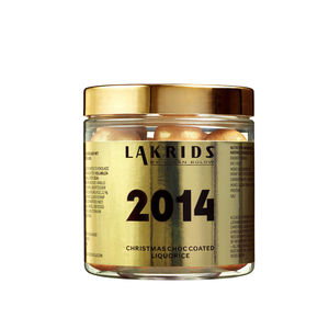 Limited Edition 2014 Chocolate Coated Liquorice - christmas food & drink