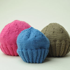 Hand Knitted Woollen Baby Hat - babies' hats
