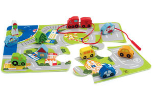 Fun Wooden Vehicles Including Play Sets