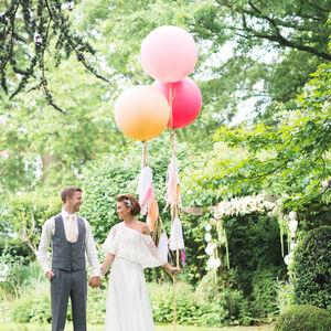 Giant Round Tasselled Balloons