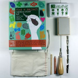 Carve A Stamp Holiday Creative Kit