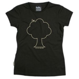 Cut Out Tree - tops & t-shirts