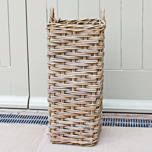 Willow Umbrella Basket Stand - baskets