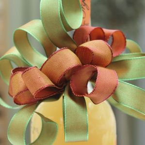 Two Tone Wired Ribbon 10 Metres