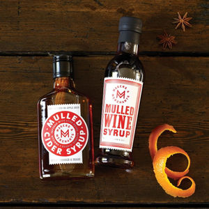 Mulling Syrup By Makers And Merchants - christmas food & drink