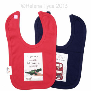 Nursery Rhyme Bib