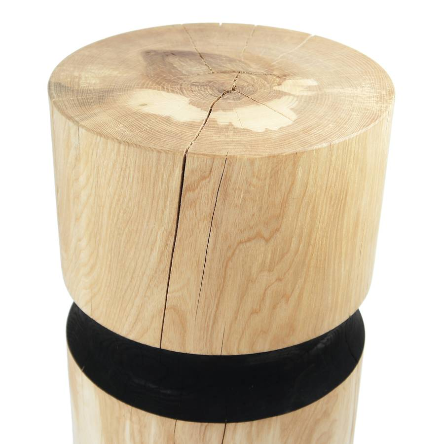 Solid Ash Wooden Stool