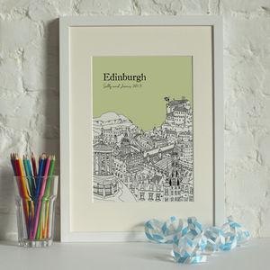Personalised Edinburgh Digital Print