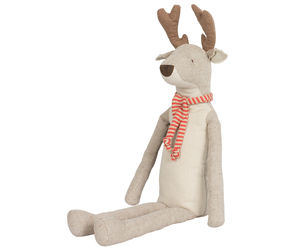 Classic Reindeer With Scarf