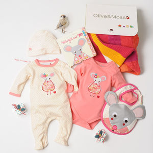 Newborn Margot And Mo Gift Hamper - babygrows