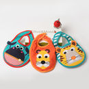 Boys Set Of Three Bibs