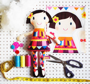 Personalised Make Your Own Doll Kit - gifts for children